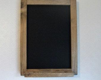 Reclaimed Pine Blackboard/Chalkboard/Memo board