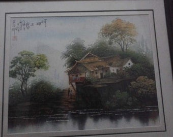 River view of a Tujia house