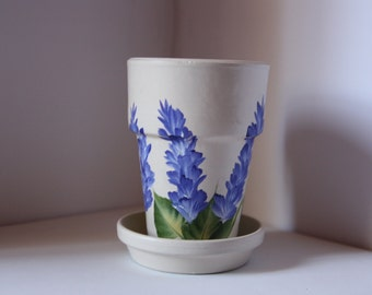 Flower Pot, Herb Pot, Hostess Gift, Gardener Gift, Chef gift, gifts for her