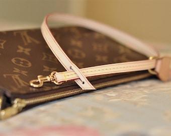 Mcraft Vachetta Leather Cross Body Strap For Louis Vuitton