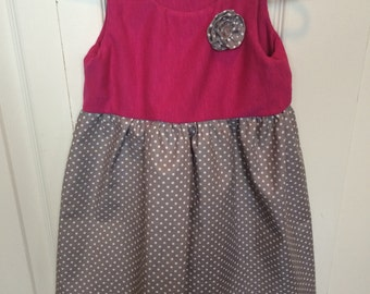 Toddler girl 3T boutique style dress