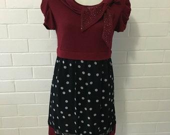 Sparkling Sequins Polkadot Dress