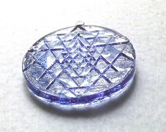 Pendant medal Shri Yantra 4.8 cm