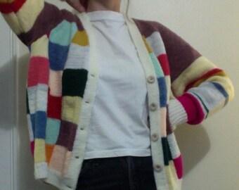 Woolen Women's Button Down Sweater