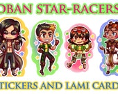 Oban Star-Racers - Stickers and Lami Cards