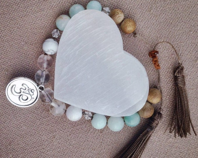 Om Shanti Tassel Bracelet