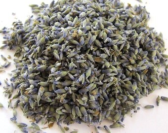 Lavender Flower Dried Herb - Home Cultivated w/o Chemicals .25 oz - Love Mental Acuity Protection Peace Purification- Magick and Spellwork