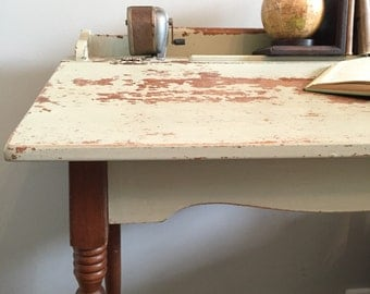 Farmhouse Vintage Lift Top Desk