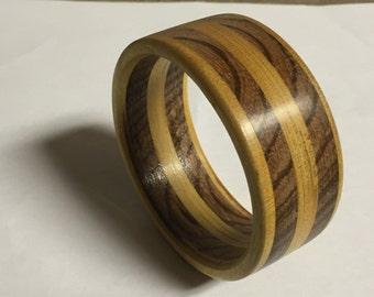 Zebra Wood Handmade Bracelet