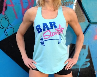 "Barbella ""Bar Star"" Racerback Tanktop"