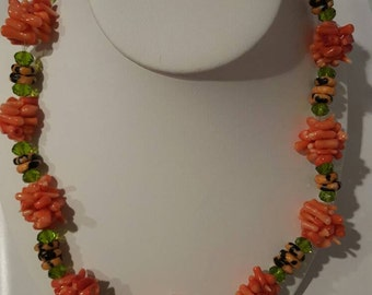 West African beaded necklace