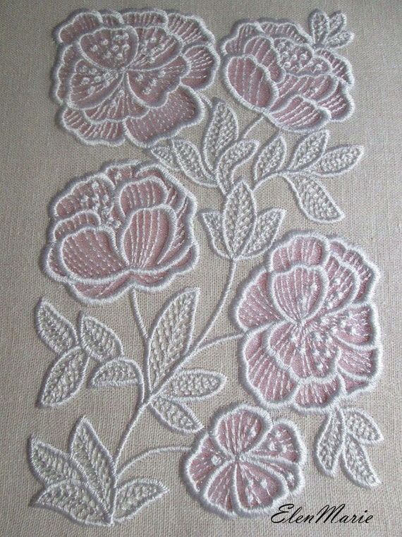 Machine embroidery design flowers applique cutwork from for Glass cut work designs