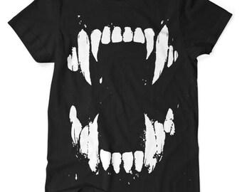 Teeth TShirt Black