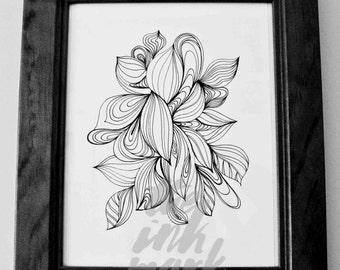 Art print - I love M