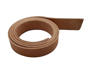 "Leather Strips 5/8"" - 16MM Width 