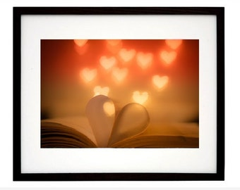 Love hearts photograph, color photography, hearts, love, Valentine's Day, Anniversary, Engagement, In Love, gift