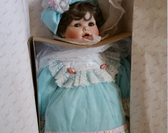 Marie Osmond Porcelain Doll Jessica's First Birthday