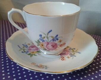 HAMILTON Fine bone china cup and saucer.