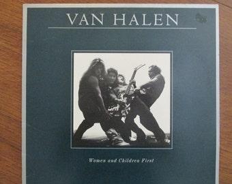 Van Halen - Women & Children First - 1980 Vinyl LP