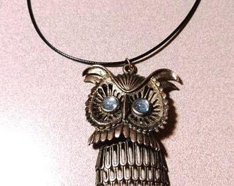Antique - Bronze - Owl Necklace