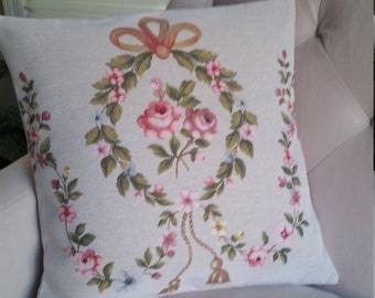 Gobelin Throw Pillow Cover.Royal Style Home Decor. Set of 2 Linen Throw Pillow Cover.FREE SHIPPING!!!