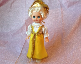 Vintage Doll in Hand Made Dress