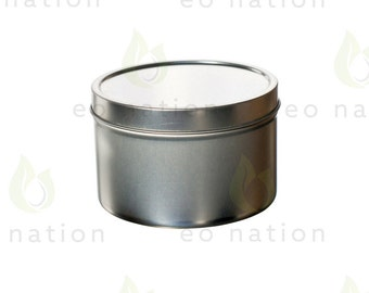8 oz. Deep Style Metal Tin