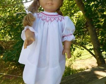 American Girl Hand Smocked Dress