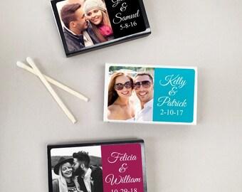 50 pcs Photo Personalized Matchboxes (MIC-GREATVIB8)