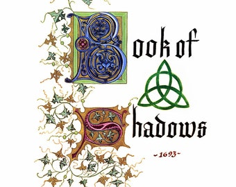 Charmed Replica Book of Shadows Pages