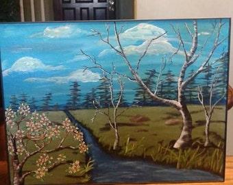 Beautiful Nature Landscape Painting