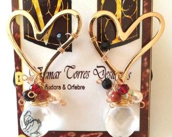 fashion hearth earrings