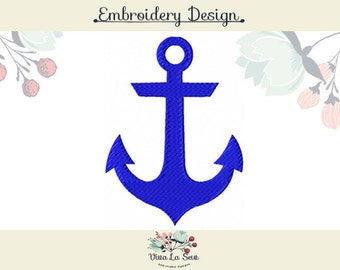 Anchor Fill Stitch Embroidery Design