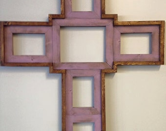 Picture frame cross