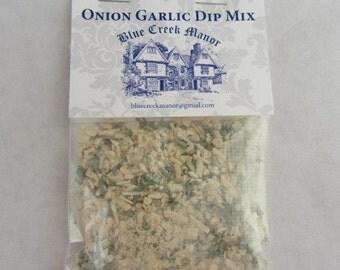Onion Garlic Dip Mix