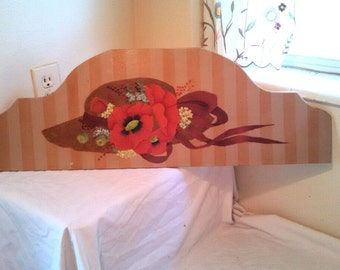 Hand painted wall art