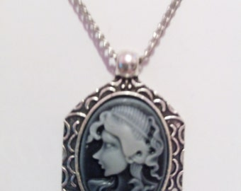 Gothic Victorian Inspired Cameo
