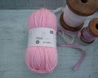 Rico Baby So Soft DK Yarn Pink 004