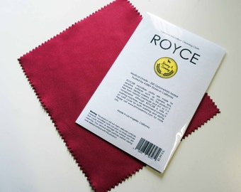 x2 ROYCE® microfiber cloth for Glasses, Camera Lens, LCD Screens, Jewelry, Watch