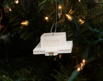 Mesa, AZ LDS Temple Christmas Ornament