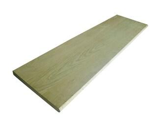Stair Tread - Solid Oak