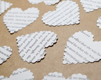 Book Novel Confetti, Rustic Wedding Decoration, Engagement Party Decorations, Country Theme Wedding Decorations, Rustic Table Decorations