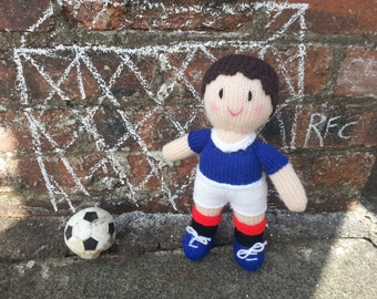 Rangers football doll