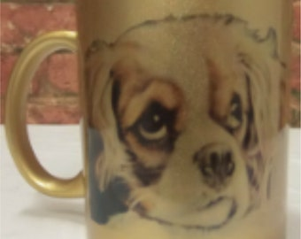 King Charles Spaniel Dog Printed
