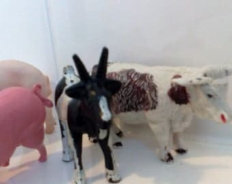 Vintage Farm animals