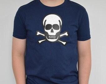 Boys Skull Printed Tee