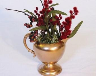 Copper Succulent Teaparty Planter