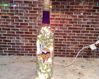 Vikings lighted sports bottle!
