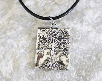 Tree of life necklace, necklace tree of life pendant