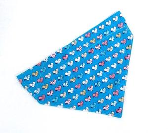 Reversible Blue Little Duckies Print Bandana